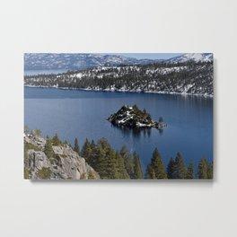Emerald Bay, Lake Tahoe Metal Print