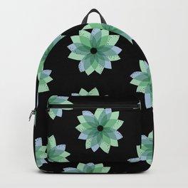Geo Spring Flowers 04 Backpack