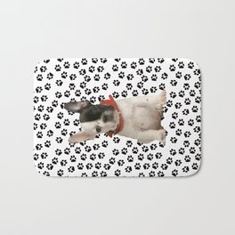 Boston Terrier Puppy Bath Mat