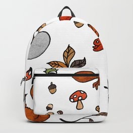 Squirrel Stickers Backpack