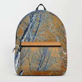 Finnish Winter Trees Backpack