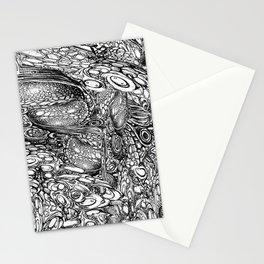Black Morph Wonderland Stationery Cards