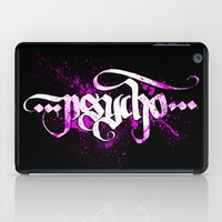 psycho iPad Cases featuring Psycho by noistromo