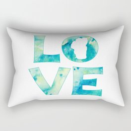 Waterlove Rectangular Pillow