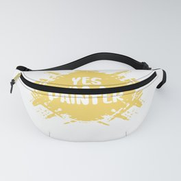 I Can'T Fix Stupid Arts Painter Painting Master Visual School Fanny Pack