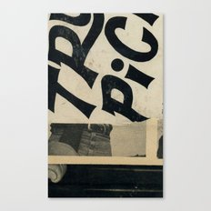 River Bummin' Canvas Print