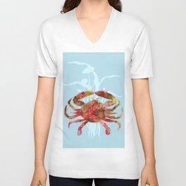 Mystical Crab Unisex V-Neck