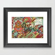 Tame Impala Framed Art Print
