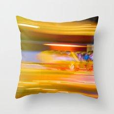 Night Light 131 - Roller Coaster Throw Pillow