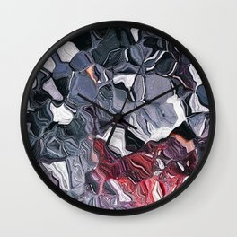 Lament Our Blood Spilled Wall Clock