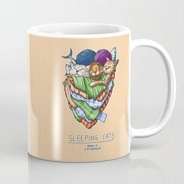 Sleeping Cats Coffee Mug