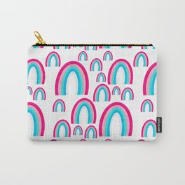 Multi Rainbow Party Everywhere Carry-All Pouch