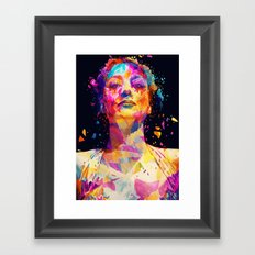 Joan Framed Art Print