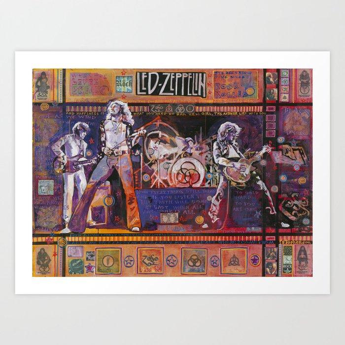Rock and Roll Kunstdrucke
