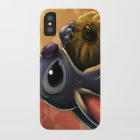 stitch iPhone & iPod Cases featuring Stitch by pandatails