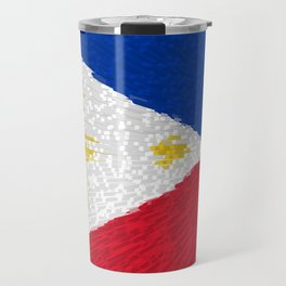 Extruded flag of the Philippines Travel Mug