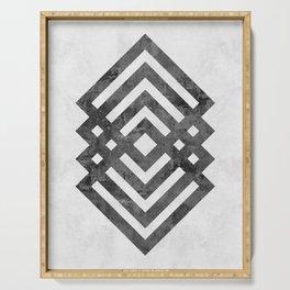 Modern and geometric art XVIII Serving Tray