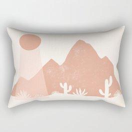 sonoran shapes Rectangular Pillow
