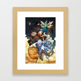 Rise of the Guardians Framed Art Print