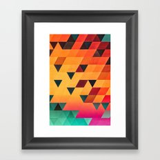 synsyt stryp Framed Art Print