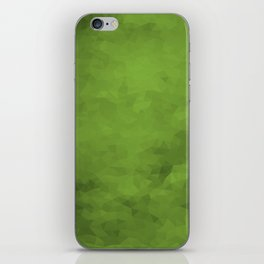 LowPoly Green iPhone Skin