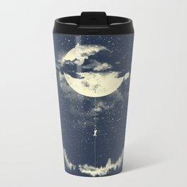 MOON CLIMBING Metal Travel Mug