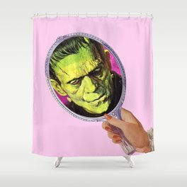Nobody loves you Shower Curtain
