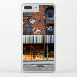 Morning Love - Brooklyn NY Clear iPhone Case