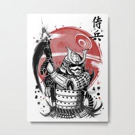 Samurai Trooper Metal Print