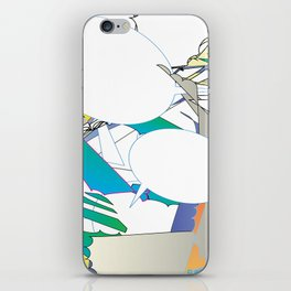 Color #6 iPhone Skin
