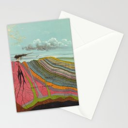 Vintage Geology and Meteorology Diagram (1893) Stationery Cards