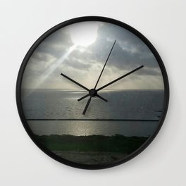 Through the Clouds Wall Clock