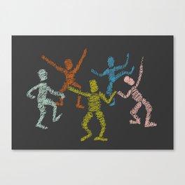 Dance fever Canvas Print