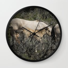 Young but Keeping Up Wall Clock