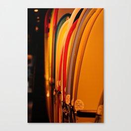 The Surfboard Line Up - Oahu, Hawaii Canvas Print