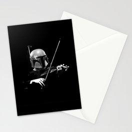 Dark Violinist Fett Stationery Cards