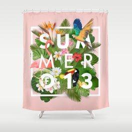SUMMER of 13 Shower Curtain