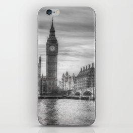 Westminster Bridge and Big Ben iPhone Skin