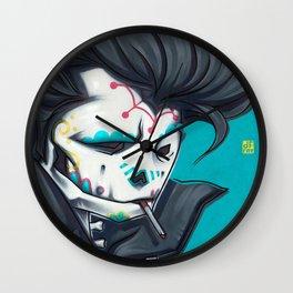 SLICK paint Wall Clock