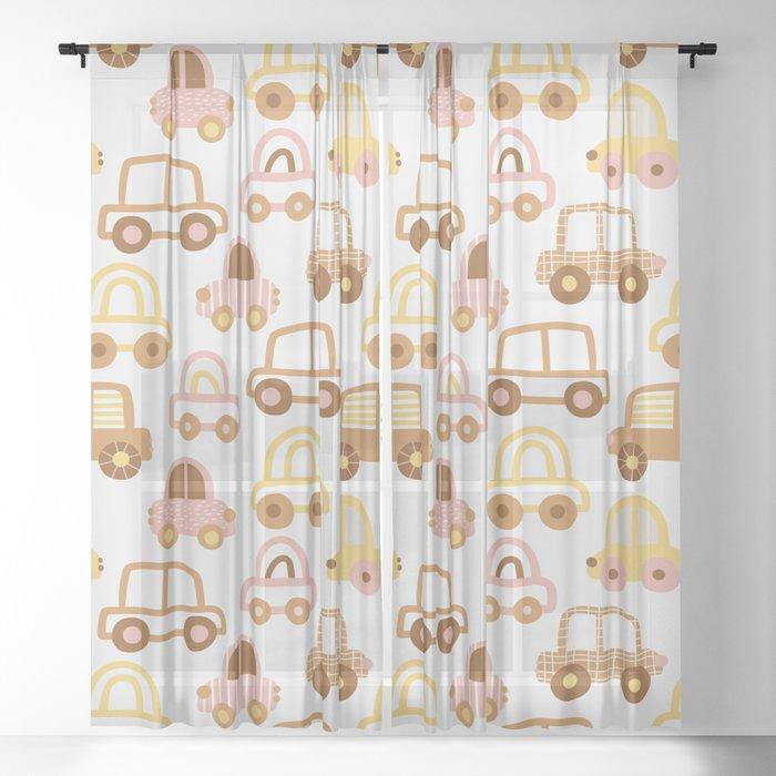Little City Sheer Curtain