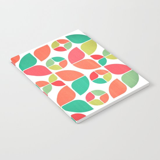 Vintage Summer Pattern Notebook