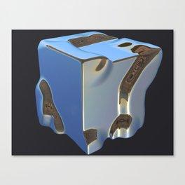 Platinum Bluesteel Canvas Print