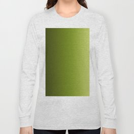 Ombre Greens Reversed 1 Long Sleeve T-shirt