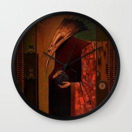 The Deathbird Wall Clock