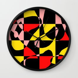 power color Wall Clock