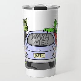 Wash Me Cats Travel Mug