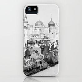 Coney Island Amusement Park 1905 Brooklyn, New York iPhone Case