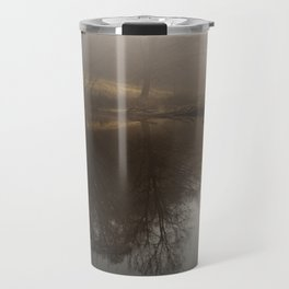 Foggy Morning in the Forest Travel Mug