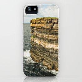 Dun Briste iPhone Case