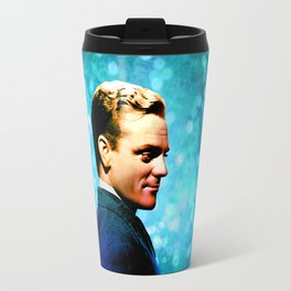 James Cagney, blue screen Travel Mug
